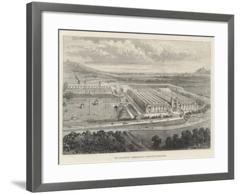 The Edinburgh International Exhibition Buildings--Framed Art Print