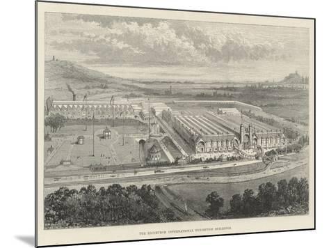 The Edinburgh International Exhibition Buildings--Mounted Giclee Print