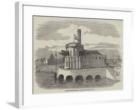 Gigantic Steam-Engine for Draining the Haarlem Lake--Framed Art Print