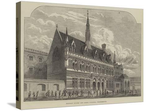 Merchant Taylors' New School Buildings, Charterhouse--Stretched Canvas Print