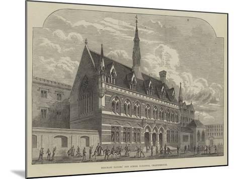Merchant Taylors' New School Buildings, Charterhouse--Mounted Giclee Print