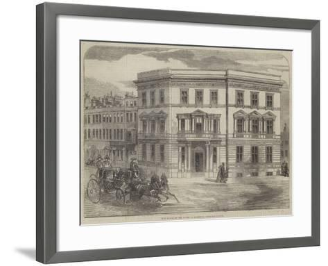 New Office of the Duchy of Cornwall, Buckingham-Gate--Framed Art Print