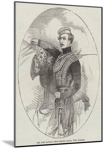 The Late Captain Lewis Edward Nolan, 15th Hussars--Mounted Giclee Print