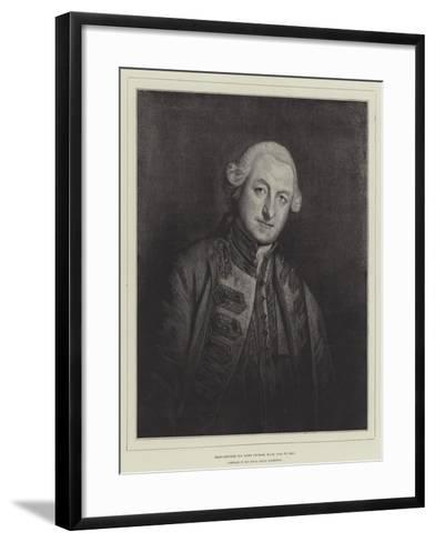 Rear-Admiral Sir Home Popham, Kcb, 1765 to 1820--Framed Art Print