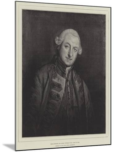 Rear-Admiral Sir Home Popham, Kcb, 1765 to 1820--Mounted Giclee Print
