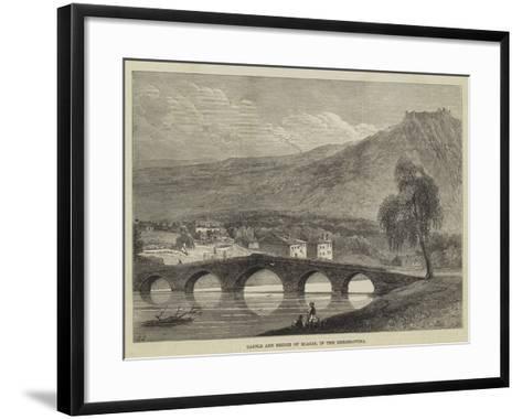 Castle and Bridge of Blagai, in the Herzegovina--Framed Art Print