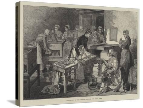 Incubators at the Maternity Hospital, Port Royal, Paris--Stretched Canvas Print