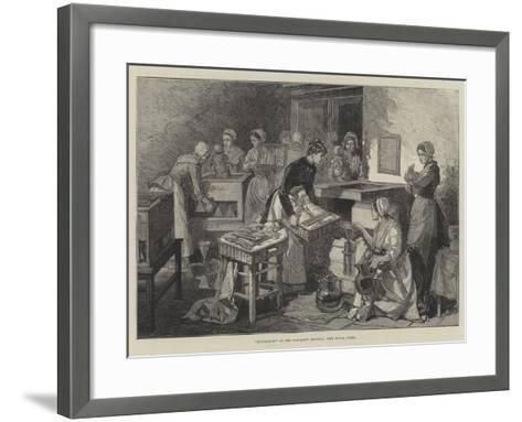 Incubators at the Maternity Hospital, Port Royal, Paris--Framed Art Print