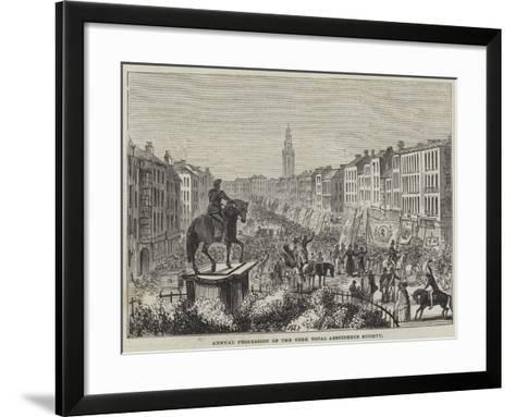 Annual Procession of the Cork Total Abstinence Society--Framed Art Print