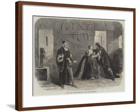 Scene from The Watch-Cry, at the Lyceum Theatre--Framed Art Print