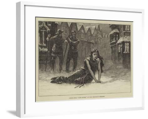 Scene from Jane Shore, at the Princess's Theatre--Framed Art Print