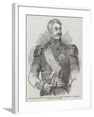 The Late Sir Walter Raleigh Gilbert, Baronet--Framed Art Print