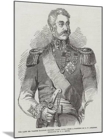 The Late Sir Walter Raleigh Gilbert, Baronet--Mounted Giclee Print