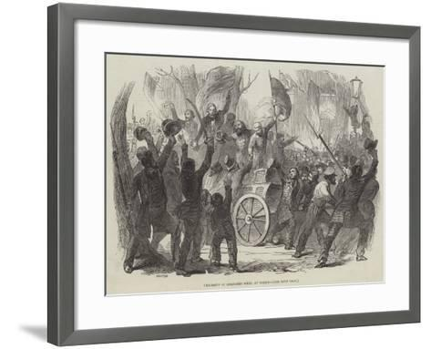 Procession of Liberated Poles, at Berlin--Framed Art Print