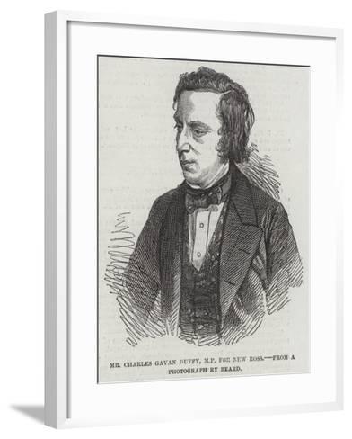 Mr Charles Gavan Duffy, Mp for New Ross--Framed Art Print