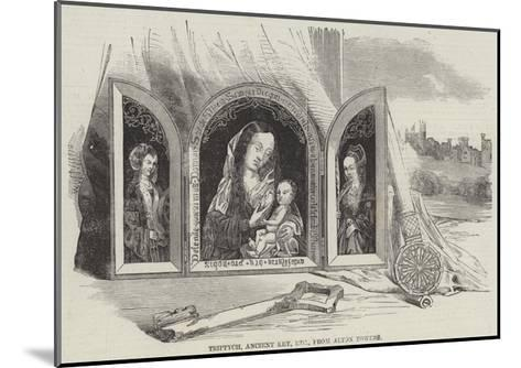 Triptych, Ancient Key, Etc, from Alton Towers--Mounted Giclee Print