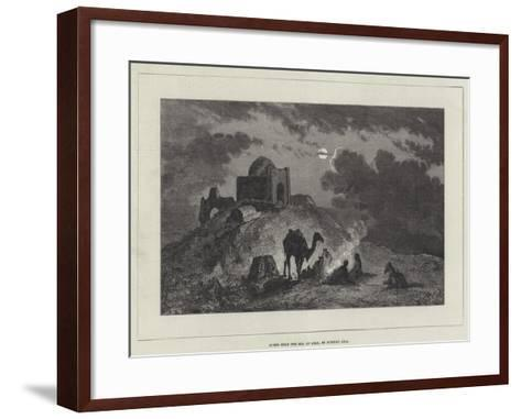 Scene Near the Sea of Aral, in Russian Asia--Framed Art Print