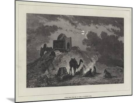 Scene Near the Sea of Aral, in Russian Asia--Mounted Giclee Print