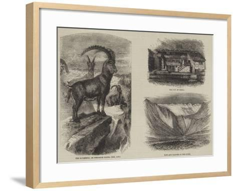 The Italian Valleys of the Pennine Alps--Framed Art Print
