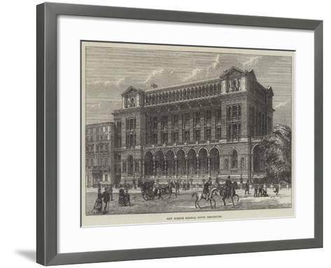 New Science Schools, South Kensington--Framed Art Print