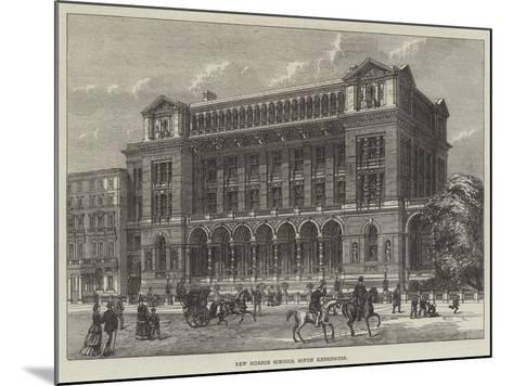 New Science Schools, South Kensington--Mounted Giclee Print