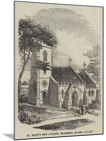 St Mary's New Church, Branksea Island, Dorset--Mounted Giclee Print