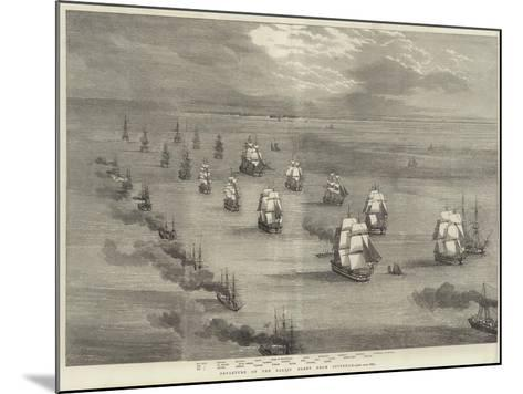 Departure of the Baltic Fleet from Spithead--Mounted Giclee Print