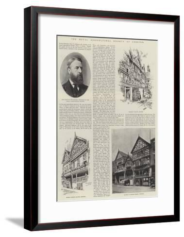 The Royal Agricultural Society at Chester--Framed Art Print