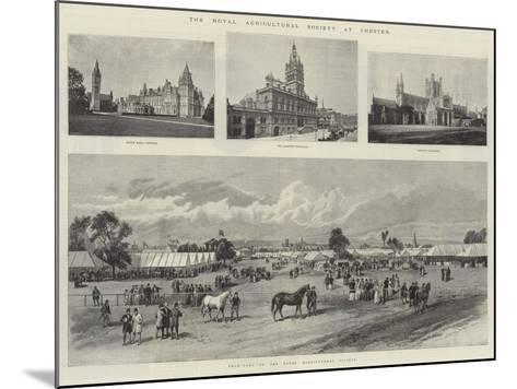 The Royal Agricultural Society at Chester--Mounted Giclee Print
