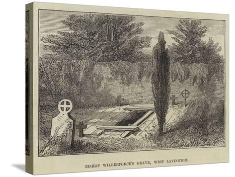 Bishop Wilberforce's Grave, West Lavington--Stretched Canvas Print