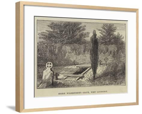 Bishop Wilberforce's Grave, West Lavington--Framed Art Print