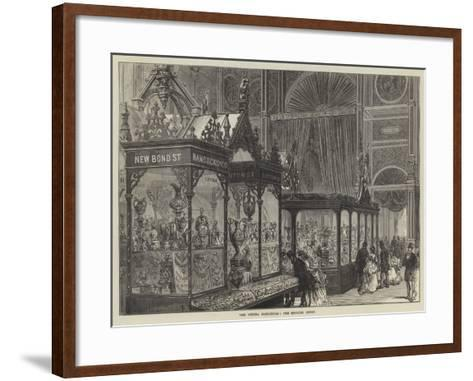 The Vienna Exhibition, the English Court--Framed Art Print