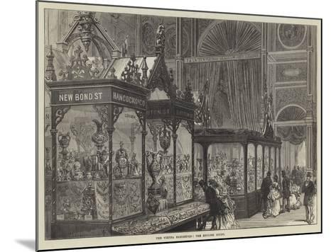 The Vienna Exhibition, the English Court--Mounted Giclee Print
