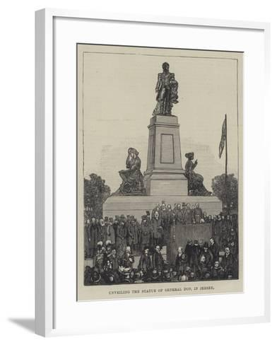 Unveiling the Statue of General Don, in Jersey--Framed Art Print