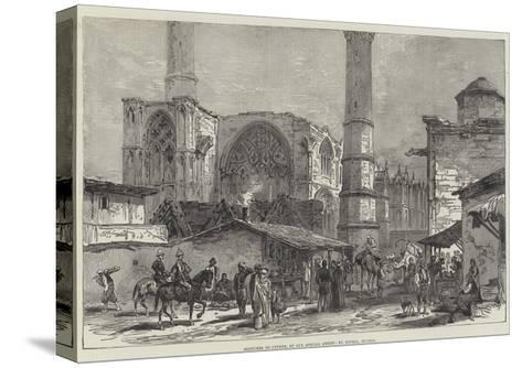 Sketches of Cyprus, St Sophia, Nicosia--Stretched Canvas Print