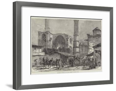 Sketches of Cyprus, St Sophia, Nicosia--Framed Art Print