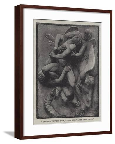 Deliver Us from Evil, from the Lyra Germanica--Framed Art Print