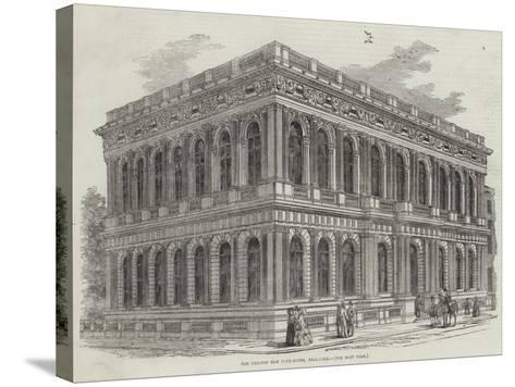 The Carlton New Club-House, Pall-Mall--Stretched Canvas Print