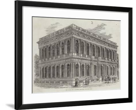The Carlton New Club-House, Pall-Mall--Framed Art Print