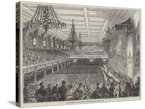 Grand Soiree at the Glasgow Athenaeum--Stretched Canvas Print