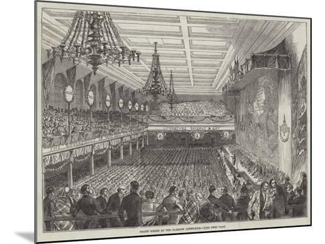 Grand Soiree at the Glasgow Athenaeum--Mounted Giclee Print