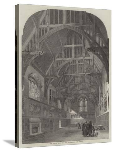 The Great Hall of the University at Sydney--Stretched Canvas Print
