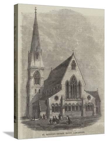 St Saviour's Church, Bacup, Lancashire--Stretched Canvas Print