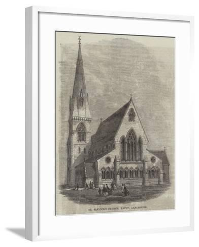 St Saviour's Church, Bacup, Lancashire--Framed Art Print
