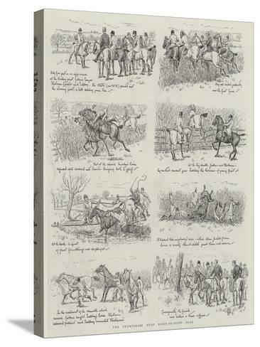 The Chumpshire Hunt Point-To-Point Race--Stretched Canvas Print