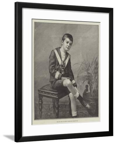 The Boy King of Servia, Alexander Obrenovitch--Framed Art Print