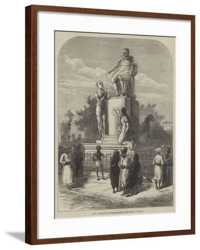 The Marquis of Wellesley's Monument, Bombay--Framed Art Print