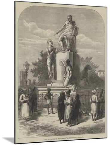 The Marquis of Wellesley's Monument, Bombay--Mounted Giclee Print