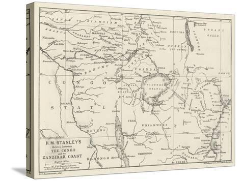 Stanley's Emin Pasha Relief Expedition--Stretched Canvas Print