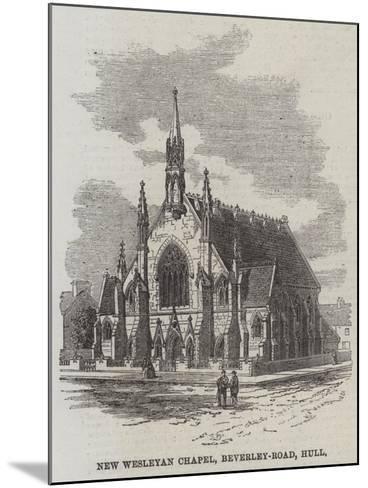 New Wesleyan Chapel, Beverley-Road, Hull--Mounted Giclee Print